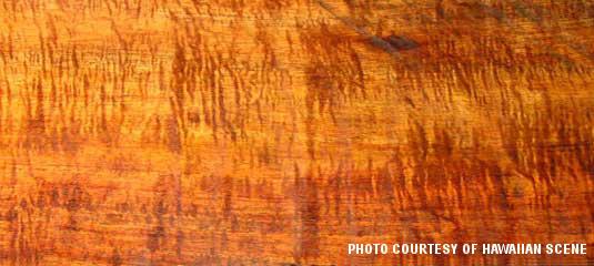 Hawaii Koa Wood